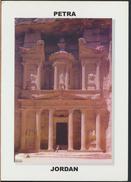 °°° 3966 - JORDAN - PETRA - AL-KHAZNEH - With Stamps °°° - Giordania