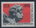 **Österreich Austria 1978 ANK 1620 Mi 1589 (1) Victor Adler Politician MNH - 1945-.... 2a Repubblica