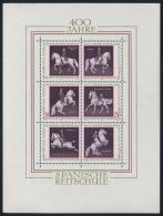 Österreich Austria 1972 ANK 1425-30 Mi 1395-00 Block 2 Spanische Reitschule Horse Riding School MNH - Blocks & Kleinbögen