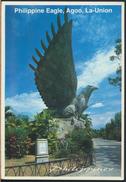 °°° 3978 - PHILIPPINES - EAGLE , AGOO , LA-UNION - 1998 With Stamps °°° - Filippine