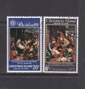 Christmas Island SG 35-36 1971 Christmas Set Used - Christmas Island