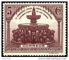 España 0620 ** Panamericana. Oficial. 1931 - 1931-50 Nuevos & Fijasellos