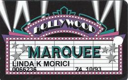 Hollywood Casino - Aurora, IL - 7th Issue Marquee Slot Card - Www.holywoodcasino.com Web Adr