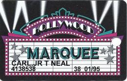 Hollywood Casino - Aurora, IL - 7th Issue Marquee Slot Card - Www.holywoodcasinoaurora.com Web Adr
