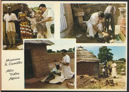 °°° 3984 - HAUTE VOLTA - OUAGADOUGOU - MISSIONE S. CAMILLO - 1972 °°° - Cartoline