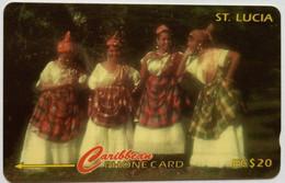 St Lucia Phonecard 121CSLA EC$20 - Saint Lucia