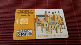 Phonecard Luxemburg TS 18 Used Only 30.000 Made Rare - Luxembourg