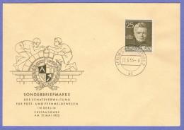 BER SC #9N91 (Mi 98) 1953 Schinkel FDC 05-27-1953 - [5] Berlin
