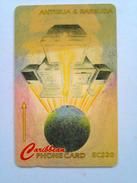Antigua Phonecard 177CATB EC$20 Internet