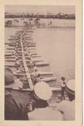 Jamboree De Godollo. Pont De Bateaux , Construit Par Les Eclaireurs Marins