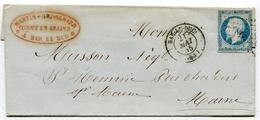 MEUSE De BAR LE DUC PC 248 Sur N°14 Sur LSC Du 21/05/1855 - 1849-1876: Periodo Clásico