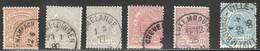 Luxemburg Classique 1875-1880 Obliterations! TB (numéro Du Lot 125BL) - 1859-1880 Armoiries