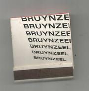 G-I-E , Tabac , Boite, Pochette D'ALLUMETTES, 2 Scans, Publicité, Porte BRUYNZEEL - Matchbox Labels