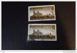 Espagne 1955  Y Et T N° 837  ( 2x) * - 1931-Aujourd'hui: II. République - ....Juan Carlos I