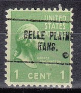 USA Precancel Vorausentwertung Preos Locals Kansas, Belle Plaine 704