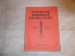 Dietsche Warande En Belfort - Maandschrift N° 2  Februari 1939  - Vlaamse Beweging  - Vlaams - Nationalisme  - - Histoire