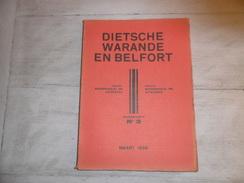 Dietsche Warande En Belfort - Maandschrift N° 3  Maart 1939  - Vlaamse Beweging  - Vlaams - Nationalisme  - - Histoire