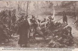 Postcard: Un Des Actes Heroiques De Nos Fusiliers-Marins; Postes Militares, 1917 - War 1914-18