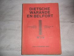 Dietsche Warande En Belfort - Maandschrift N° 7 - 8 Juli - Augustus 1939  - Vlaamse Beweging  - Vlaams - Nationalisme  - - Histoire