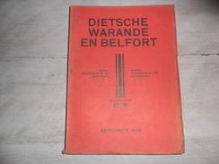Dietsche Warande En Belfort - Maandschrift N° 9 September 1939  - Vlaamse Beweging  - Vlaams - Nationalisme  - - Histoire