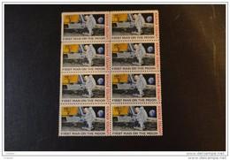 Etats-Unis 1969    Scott C 76   Bloc De 6  MNH**   First Man On The Moon - Non Classés