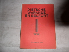 Dietsche Warande En Belfort - Maandschrift N° 12  December 1939  - Vlaamse Beweging  - Vlaams - Nationalisme  - - Histoire