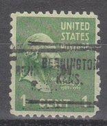 USA Precancel Vorausentwertung Preos Locals Kansas, Bennington 704