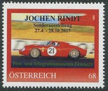ÖSTERREICH / PM Nr. 8122690 / Jochen Rindt / Postfrisch / ** / MNH - Personalisierte Briefmarken