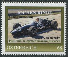 ÖSTERREICH / PM Nr. 8122692 / Jochen Rindt / Postfrisch / ** / MNH - Personalisierte Briefmarken