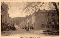 SAINT PONS AVENUE DE CASTRES - Saint-Pons-de-Mauchiens