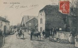 G112 - 70 - PUSY - Haute-Saône - La Grande Rue - Altri Comuni