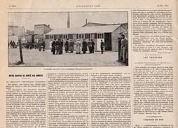 1915 Service De Santé Aux Armées Ambulance Chirurgicale Automobile Verso: Mini Pubs,Globéol,Zenith Carburateur..BE - Old Paper