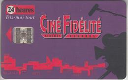 CARTE CINÉMA * SUISSE   * GIFT CARD *     *** FIDÉLITÉ VIOLET / 3  *** - Schweiz