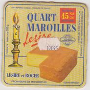 Etiquette Maroilles Quart Lesire / Fromagerie De Mondrepuis / HIRSON - Fromage