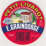 Etiquette Fromage - Petit Livaro - E. GRAINDORGE - Fromage