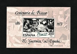 """SPAGNA 1981 - """"Guernica"""" - Foglietto Centenario Della Nascita Di Pablo Picasso - 200 Pta - MNH - Edi:ES SH 2631 - 1931-Oggi: 2. Rep. - ... Juan Carlos I"""