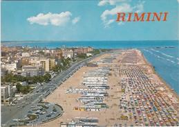 Cartolina - Postcard  - PANORAMA AEREO - LA SPIAGGIA - RIMINI - Rimini