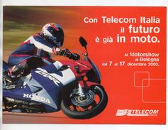 Telecom - Folder Vuoto Per Schede Telefoniche - 2000 - (Vedi Foto) - Materiale