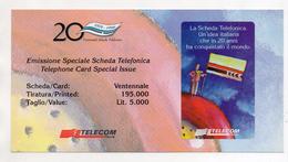 Telecom - Folder Vuoto Per Scheda Telefonica - (Vedi Foto) - Télécartes