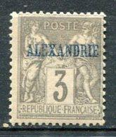 ALEXANDRIE -  Yv  N°  3   *  3c   Cote  3,8  Euros   BE   2 Scans - Alexandria (1899-1931)