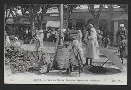 BLIDA - Place Du Marché Indigène - Marchands D' Oignons - Blida