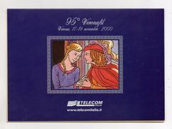 Telecom - Folder Vuoto Per Schede Telefoniche - (Vedi Foto) - Materiale