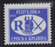 Croatia Republic Of Serbian Krajina 1993 Definitive R, MNH (**) Michel 22 - Croatie