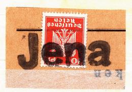 A4629) DR Briefstück Mit Päckchenstempel Jena - Gebraucht