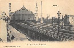 Antwerpen Anvers     Station  La Gare Centrale  Treinsporen Wagon Trein  Rue Du Pélican Pelikaanstraat    X 1052 - Antwerpen
