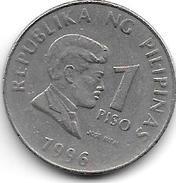 *philippines 1 Piso 1996  Km 269 - Philippines