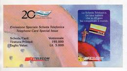 Telecom - Folder Vuoto Per Scheda Telefonica - (Vedi Foto) - Materiale