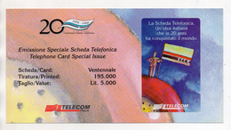 Telecom - Folder Vuoto Per Scheda Telefonica - (Vedi Foto) - Schede Telefoniche