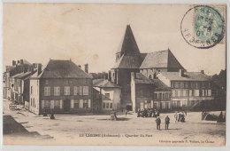 08 Le Chesne 1907 Quartier Du Fort Animée Editeur Librairie-papeterie P.Vuilbert Le Chesne - Le Chesne