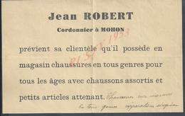 AFFICHE PUBLICITAIRE JEAN ROBERT CORDONNIER À MOHON : - Posters